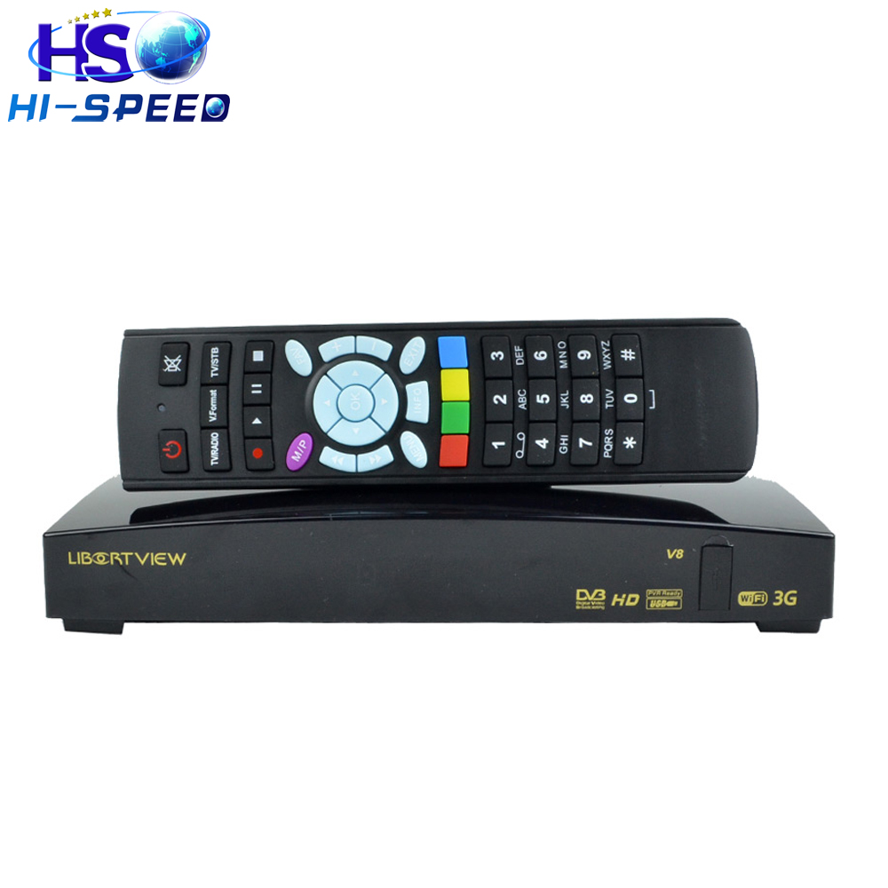 1pc New arrival Libertview v8 same openbox v8s HD DVB-S2 Dual-Core CPU 600 MHz MIPS Processor Skybox V8 S-V8 support Free Web TV(China (Mainland))