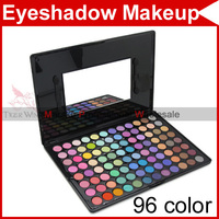 96 Full Color Cream Warm & Cool Pro Professional Camouflage Eyeshadow Eye Shadow Makeup Gloss Neutral Palette 2234