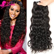 Brazilian Virgin Hair Bundle Deals Water Wave Brazilian Hair Weave Bundles 8A Unprocessed Cheap Brazilian Hair 4 Bundles(China (Mainland))