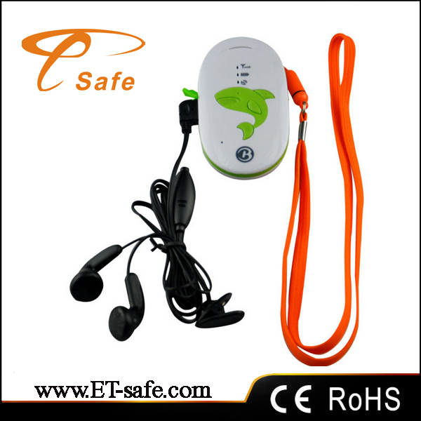 Two way call personal tracker for kids /old person real time tracking and remote contorl by cell phone(China (Mainland))