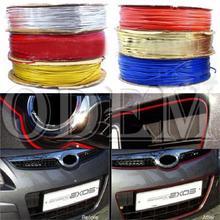 hot sale new 1M DIY Car Interior & Exterior Decoration Moulding Trim Colored Strip Line