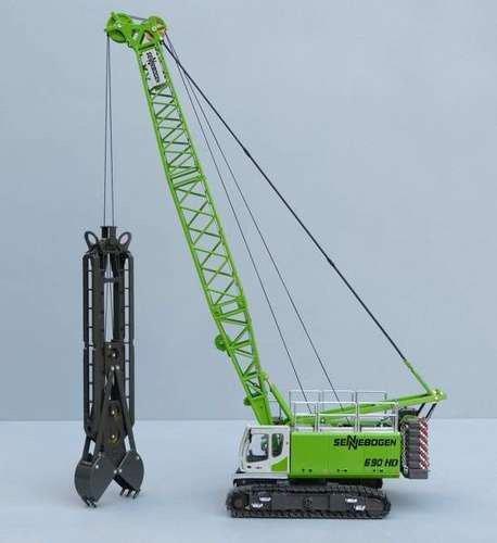 1:50 Sennebogen 690HD Crawler Crane with Diaphragm Wall Grab  toy