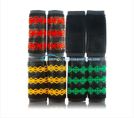 Motorcycle electric car slip rubber handlebar grips plush wool jacket to cover the rubber sleeve color versatility for Honda(China (Mainland))