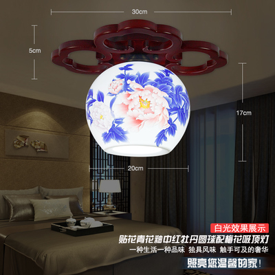 Antique LED Ceiling Lamp Beautiful Chandelier Jingdezhen  Porcelain Light for Dining Bedroom Hotel Free Shipping Flower<br><br>Aliexpress