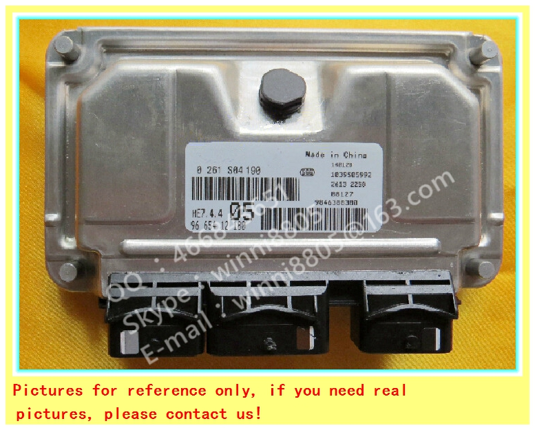 For Dongfeng Peugeot Citroen Elysee car engine computer board / car pc / Engnine Control Unit (ECU) / 0261S04190 / 9665412180(China (Mainland))