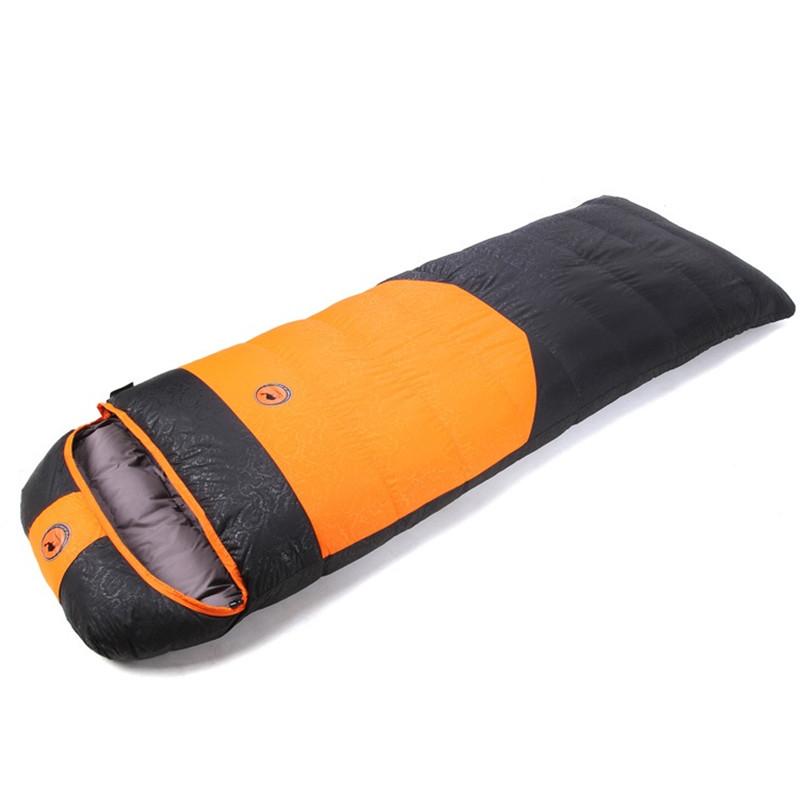 Camcel ultralight camping sleeping bag envelope white duck down sleeping bag goose down sleeping bag 1500/1700/1900g(China (Mainland))