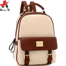 Attra-Y !2015 backpack women backpacks women school bag ladies travel bags girls school shoulder bags free shipping LS5835ay(China (Mainland))