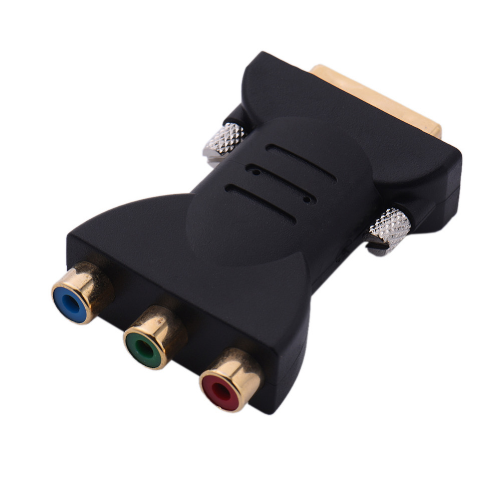 DVI-I Male to HDTV RGB Video Component Adapter Connector supports Xbox 360(China (Mainland))