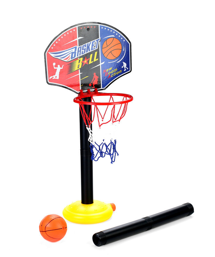 New arrival children outdoor toys basketball toy set kid's toy balls free shipping(China (Mainland))
