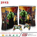 Protector decal cover vinyl for xbox one skin console + 2pcs controllers skin sticker