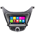 wince 6 0 GPS navigation steering wheel control for hyundai 2012 elantra with bluetooth free map