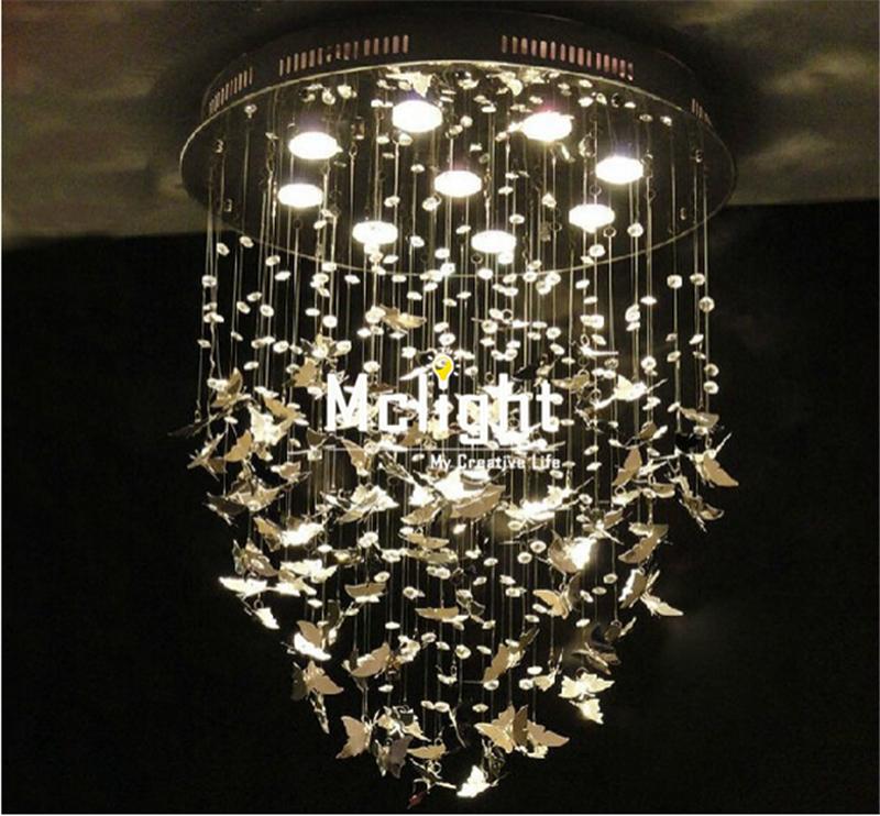 AM8832: Beautiful Alan Mizrahi Custom Made Pristine Prism Crystal Dream Butterfly Chandelier Lamp<br><br>Aliexpress