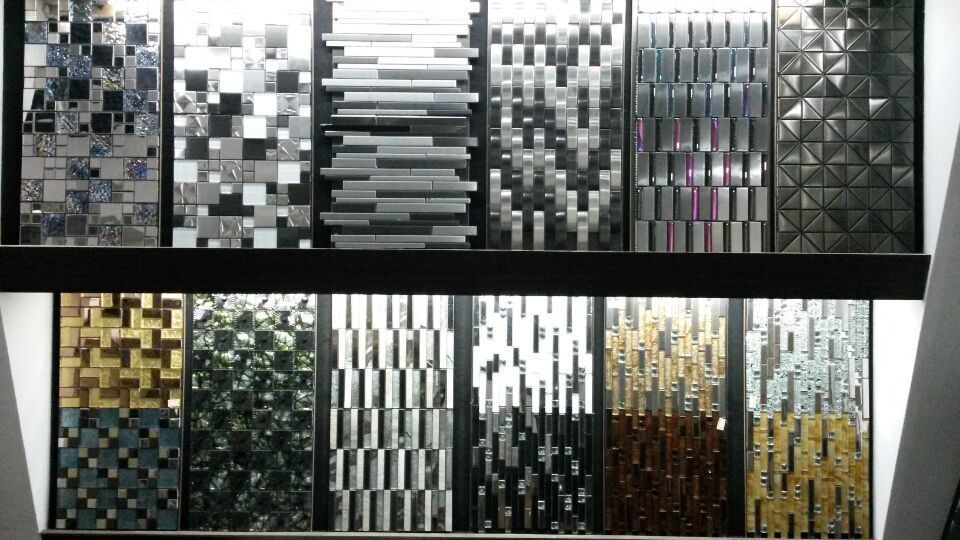 metal mosaic tile Picture - More Detailed Picture about SA021 2 ...