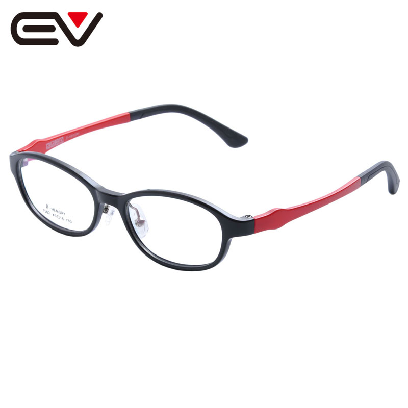 Fashion Baby Kids Toddler Acetate Optical Eyeglasses Frames Girls Boys Children's Spring Hinge Eyewear Frames 5 Color EV1394(China (Mainland))