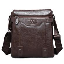 Men bag 2016 Polo famous brands genuine leather bag High Quality men messenger bags  vintage laptop bag briefcase handbag A3G60 (China (Mainland))