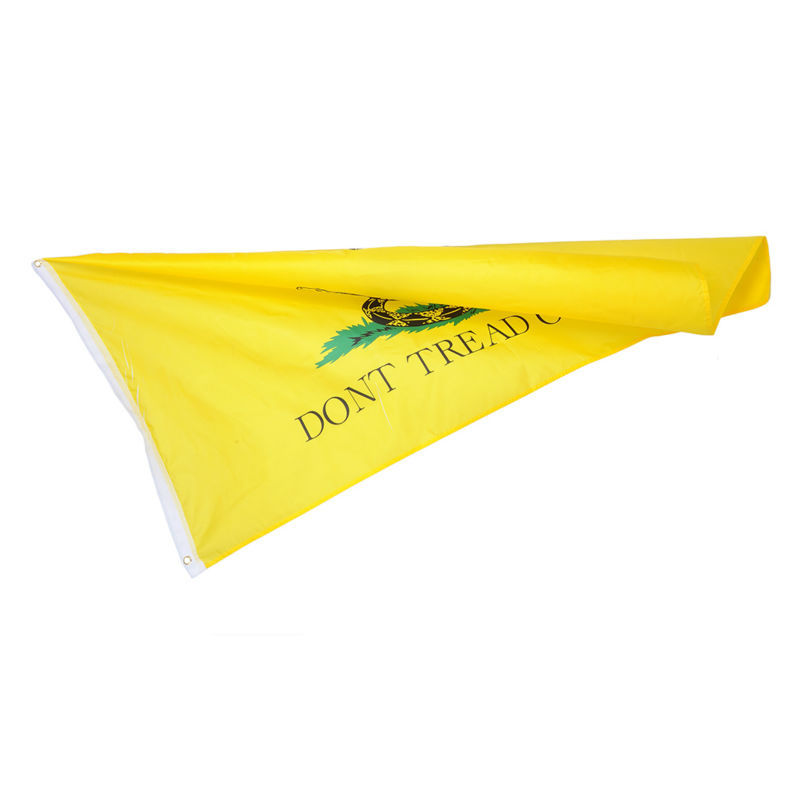 Confederation flag Yellow snake Polyester Flags Don't Tread on Me Gadsden Flag Banner 90*150cm USA Home Decor