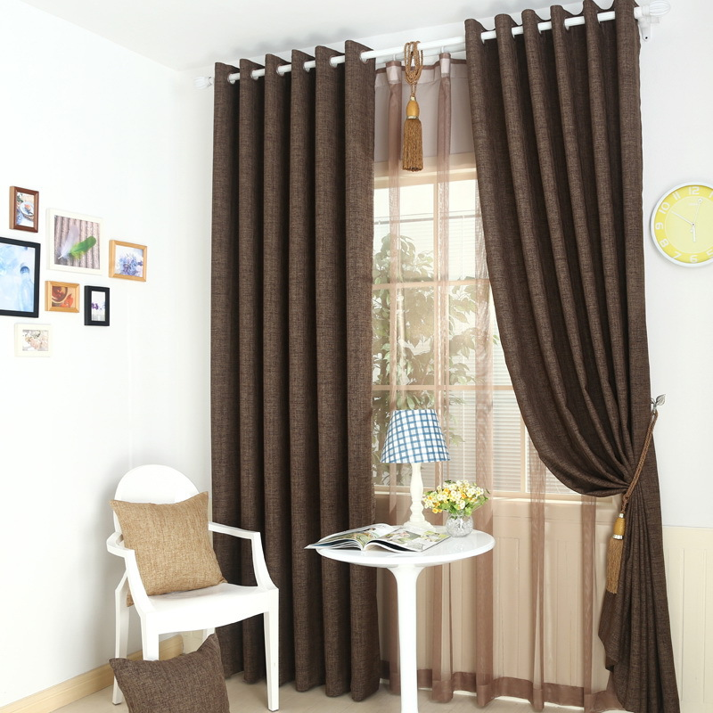 simple luxury style cloth for curtain promotion nice