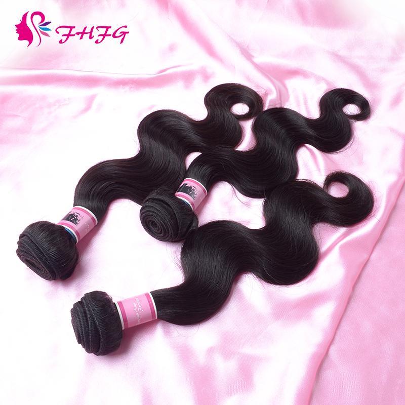 Brazilian Virgin Hair Body Wave Cheap 100g Virgin Hair 3 Bundle Lots Women Hair Weave Bundles Aliexpress Unprocessed Human Hair(China (Mainland))