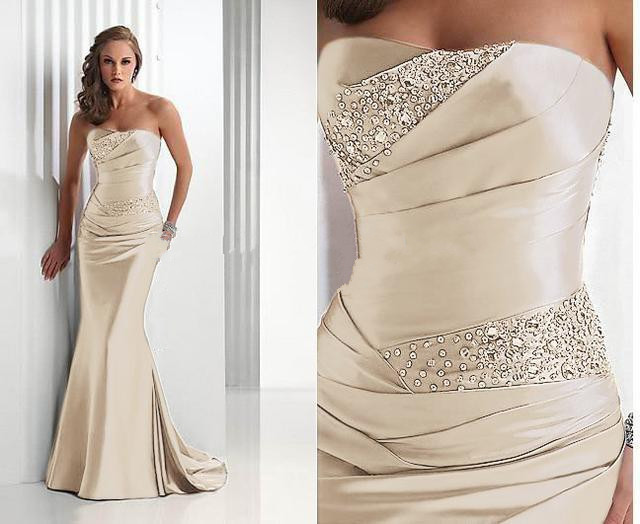 Robe longue blanche soiree pas cher