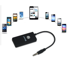 Free Shipping Wireless Bluetooth Dongle Stereo Audio Dongle Adapter 3 5 Receiver for iphone ipad Hifi
