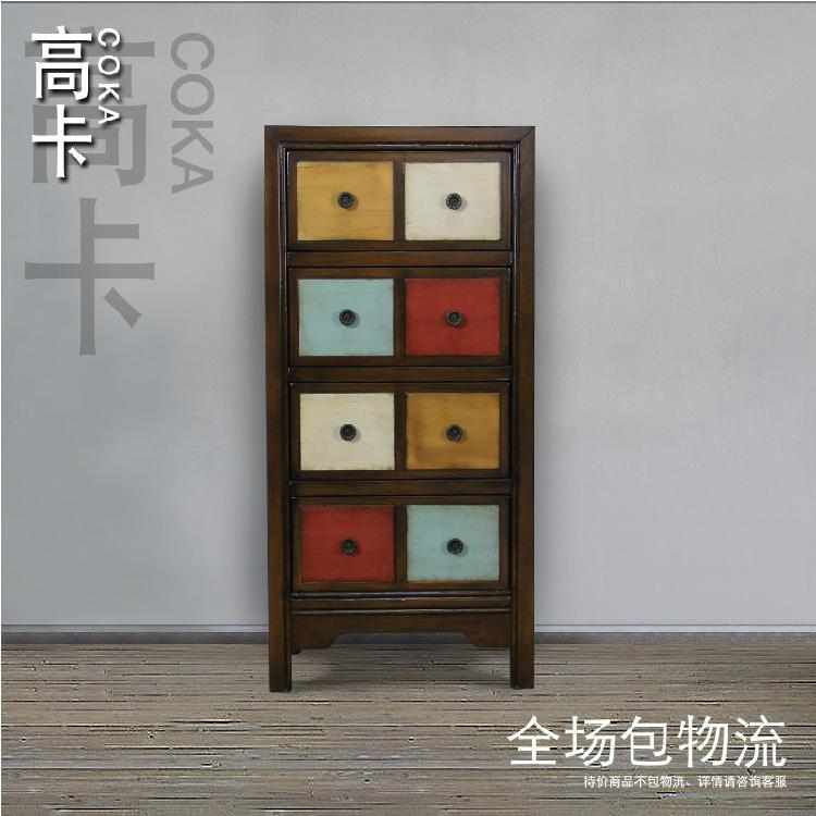 Mobilier moderne commode casiers la tiroirs pour le for Meuble bois tiroirs casiers