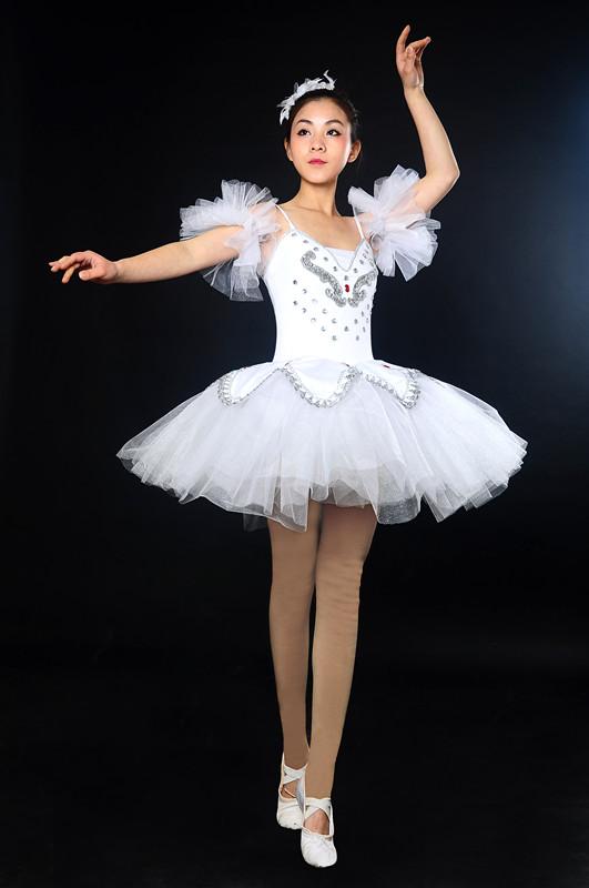 Professional Tutu Ballerina Dress Black Ballet Dresses For Girls Women Swan Lake Ballet Costumes Adult Ballet Leotard Clothes(China (Mainland))