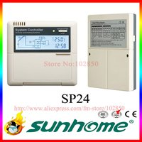 solar water heater controller SP24 Solar Thermal Controller for Solar Hot Water Heater,110/220V,LCD Network Function