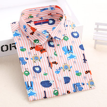 Clearance! Women Blouses Turn Down Collar Floral Blouse Long Sleeve Shirt Women Camisas Femininas Women Tops And Blouses Fashion(China (Mainland))