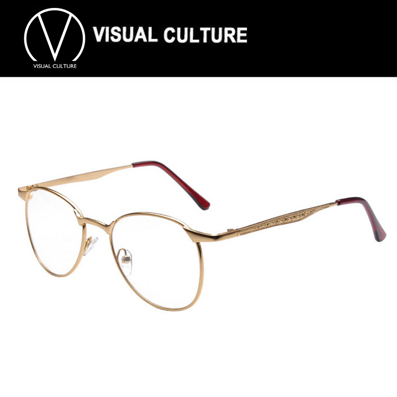 2015 Round Retro Korean Glasses Frames Wide Match Big ...