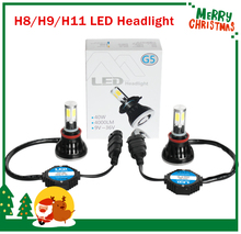 Buy H8 H9 H11 LED auto headlight Kit 80W 8000lm 4cob H11led bulb Replacement Fog Head Light Lamp White H8 H9 LED Automotive Headlamp for $39.23 in AliExpress store