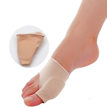 2pcs/pair Great Toe Cyst Foot Care Tool , Stretch Nylon Hallux Valgus Guard Cushion Bunion Toe Separator Thumb valgus protector(China (Mainland))