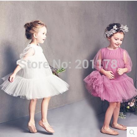 Free shipment 800# 2015 new design girl Dou Aichao Princess Tutu Dress 2 color Lolita dress(China (Mainland))