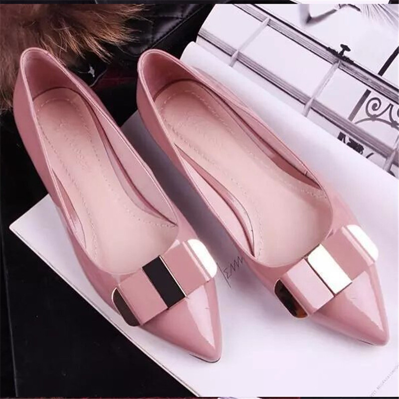 2014 basic Spring and Autumn Flats for Women fashion shoes woman flat heels womens shoe Free Shipping KR038<br><br>Aliexpress