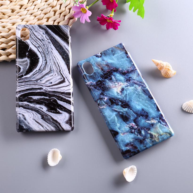Phone Cases Sony Xperia M4 Aqua E2303 E2353 E2306 Dual E2333 E2363 E2312 M4Aqua 5.0 inch Cover Marble Stone Smartphone Case