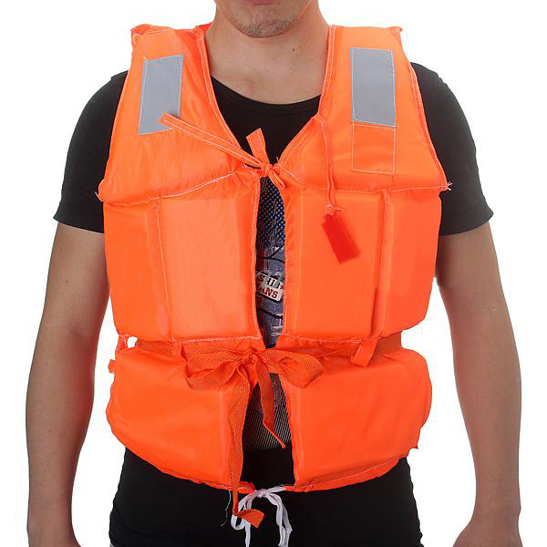 Adult Foam Flotation Swimming Life Jacket Vest With Whistle Boating Swimming Safety Life Jacket Water Safety Products VE438 T15(China (Mainland))