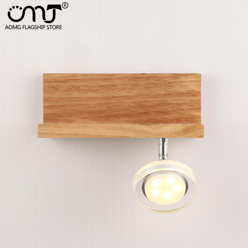 .com : Buy Modern minimalist living room with oak wood shelves small ...