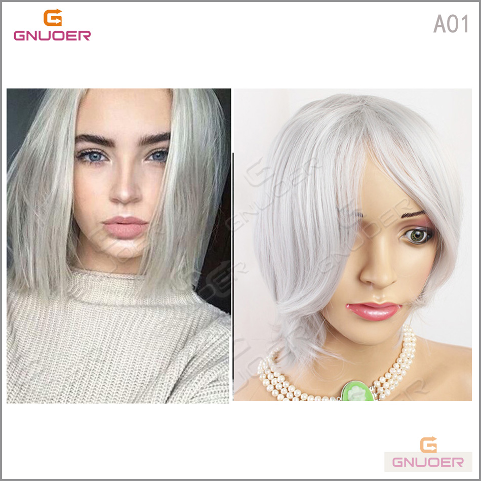 Popular Grey Hair Styles Pictures Buy Cheap Grey Hair Styles Pictures Lots From China Grey Hair