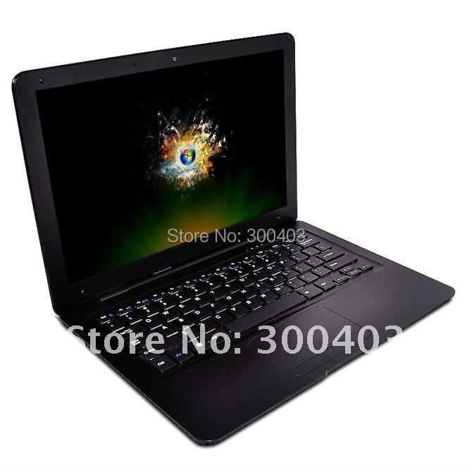 New super slim 13.3 inch mini netbook umpc WIFI 2G DDR 320G HD netbook notebook laptop computer,hot best Christmas gift!(China (Mainland))