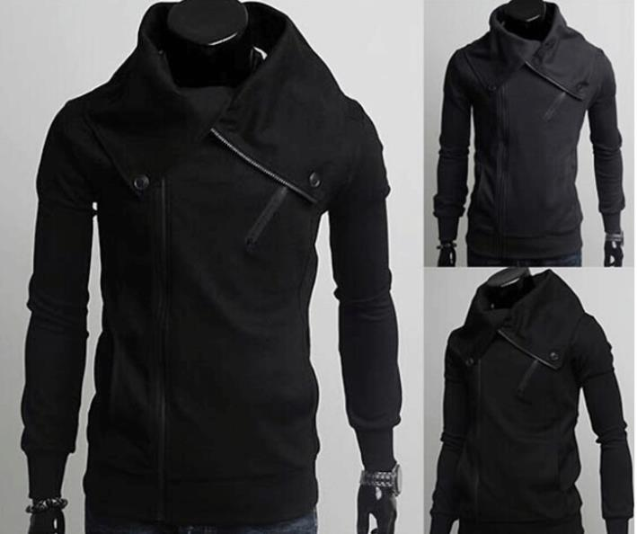 2015Free Shipping 2014 New Slim Sexy Top Designed Mens Jacket Coat decorative buttons hooded cardigan long sleeve jaquetasОдежда и ак�е��уары<br><br><br>Aliexpress