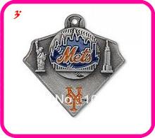 100pcs 1lot New York Mets baseball team sport logo sport charms free shipping (can be mixed)(China (Mainland))