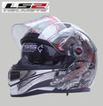 Free shipping genuine LS2 FF396 10 dual lens glass strip balloon racing motorcycle helmet full helmet