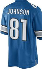2016 NEW MEN 'S 81 Calvin Johnson jerseys 9 Matthew Stafford white blue 100% Stitched jersey(China (Mainland))