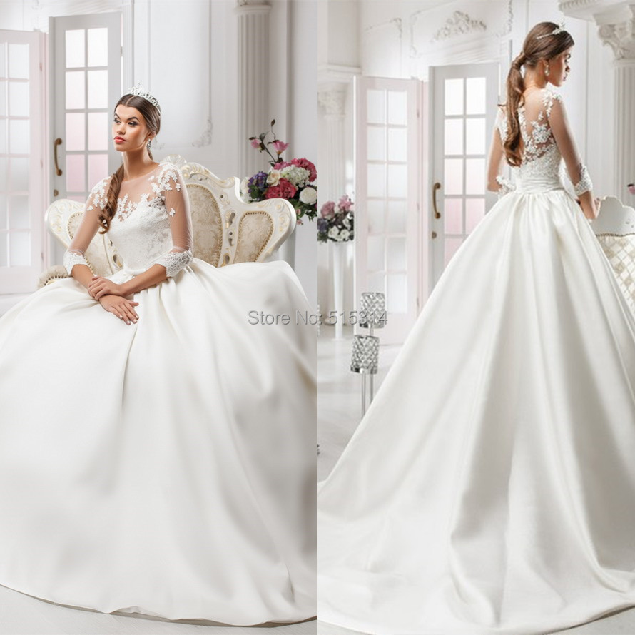 Queen Bride Dresses