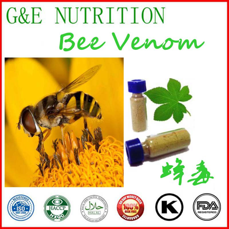 Фотография 2016 New Batch Pure Bee Venom Powder for Sale from China 8 gram/bottle