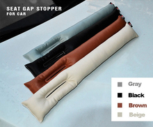 Free Shipping 2015 New Car Seat Crevice Gap Stopper PU Leather Leakproof Protector