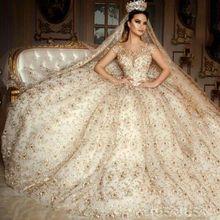Buy Elegant Ball Gown Wedding Dresses 2017 Luxury lace crystal wedding dress Court Train Women Bride Gown vestido De noiva 2017 ) for $421.60 in AliExpress store