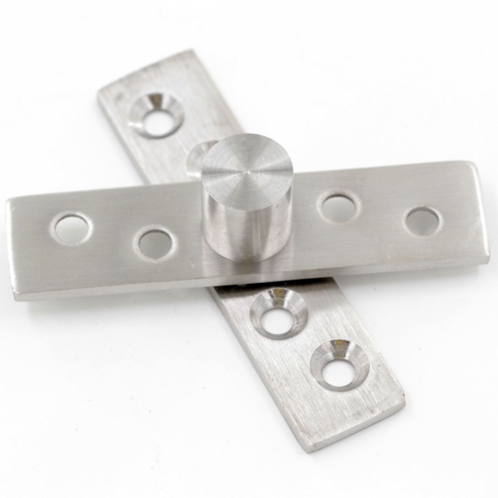 Upper and lower 360 Degree 75x18mm Stainless Steel Pivot Axis Hinge(China (Mainland))