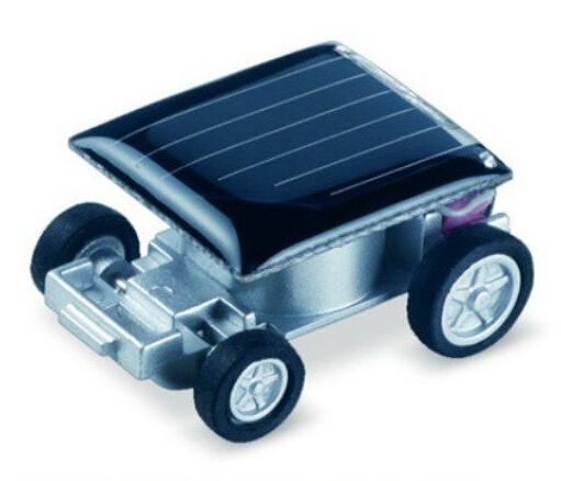 free shipping mini solar powered car toy, 1000pcs/lo(China (Mainland))