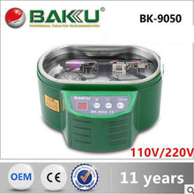 BK - 9050 ultrasonic cleaning machine chip, clock and watch, dentures, mobile phone, glasses, jewelry cleaners 110V/220V(China (Mainland))