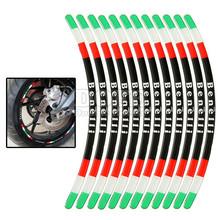 Motorcycle Motorbike Wheel Frame Hub Rim Stickers Decals Benelli bn600 bn300 bn250 bn 250 300 600 bj300 bj years - Flying Motor store